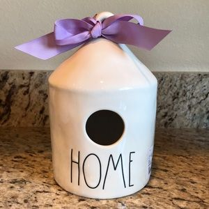 NEW-Rae Dunn Round Home Birdhouse